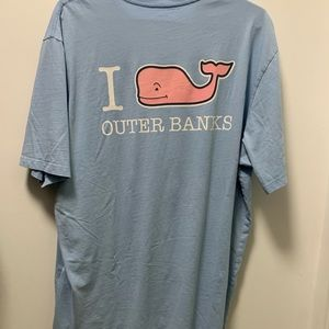 Outer banks vineyard vines tee shirt